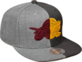 Mitchell & Ness NBA Cleveland Cavaliers Split Crown Snapback Cap