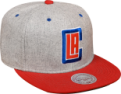Mitchell & Ness NBA Los Angeles Clippers Melange Flannel Snapback kepurė
