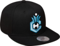 Mitchell & Ness NBA Charlotte Hornets Solid Team Colour Snapback kepurė