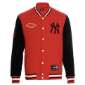 Majestic MLB New York Yankees Senell Fleece Letterman džemperis (Dydis XXL)