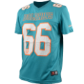 Majestic NFL Miami Dolphins Abris Polyester Jersey Tee