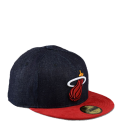New Era Densuede Miami Heat Denim Fitted kepurė