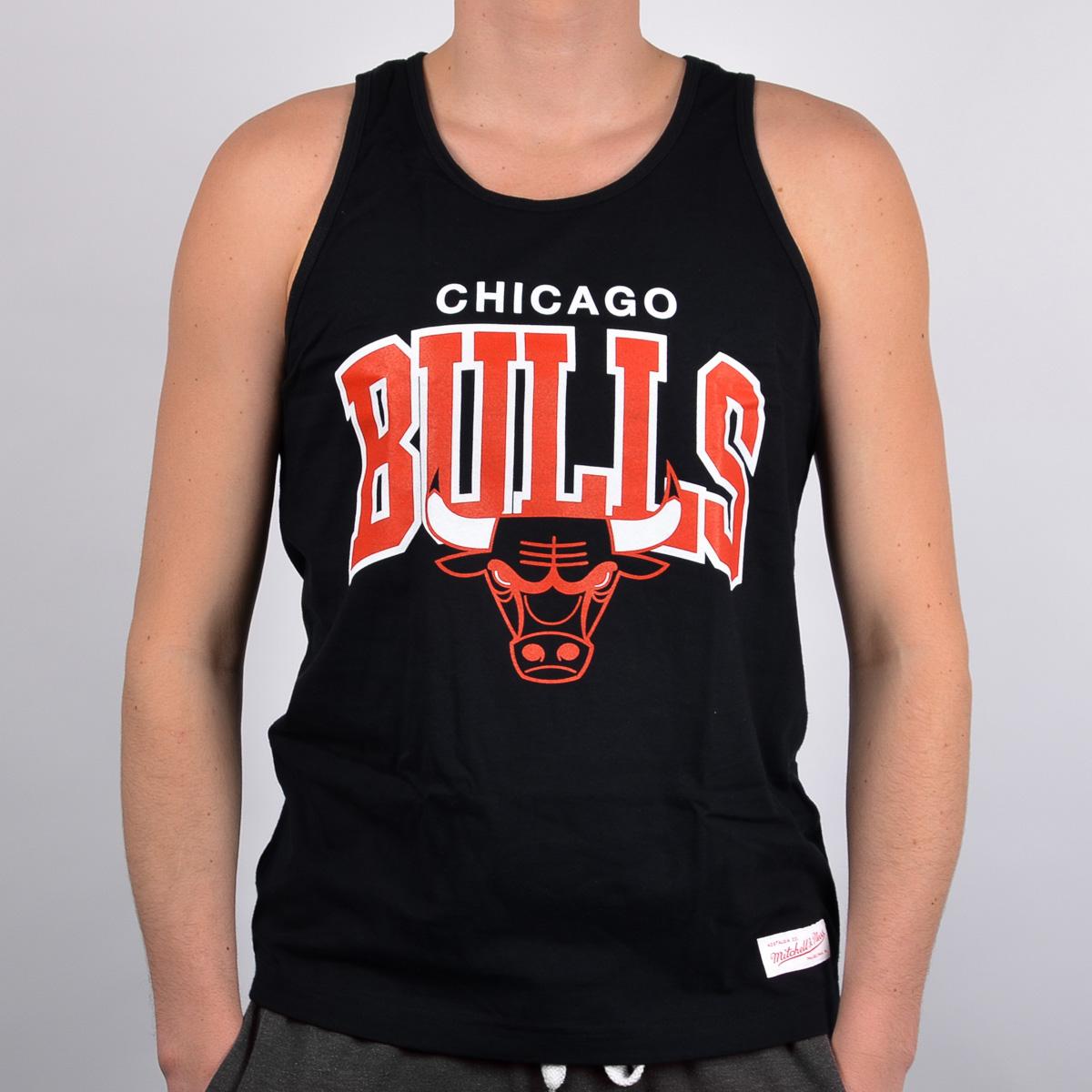 aea3e1570c4 Mitchell   Ness Chicago Bulls Team Arch Tank Top - NBA Shop Chicago Bulls  Merchandise - Superfanas.lt
