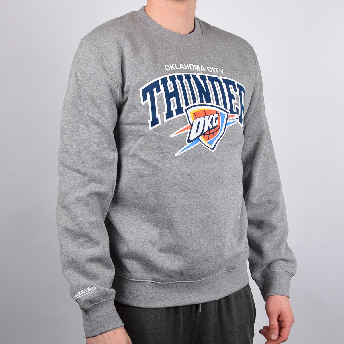 sports shoes 8d7ec cc795 Mitchell & Ness Oklahoma City Thunder Team Arch Crew - NBA ...