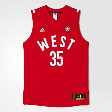 pretty nice e0d1c cce00 adidas NBA All-Star 2016 Kevin Durant Replica jersey - NBA ...