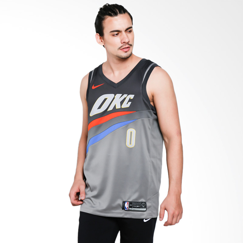 Nike NBA Oklahoma City Thunder Russell Westbrook City Edition Swingman  Jersey - NBA Shop OKC Thunder Merchandise - Superfanas.lt fc08d4b72