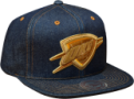 Mitchell & Ness Oklahoma City Thunder Dark Denim Snapback Kepurė