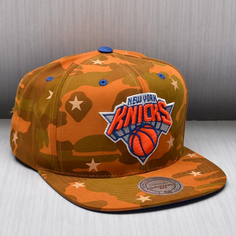 f1133f780c0ac Mitchell & Ness New York Knicks Camo Star Snapback Cap - NBA Shop New York  Knicks Merchandise - Superfanas.lt