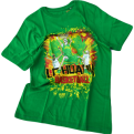 T-shirts Lithuania Basketball Grateful Dead Skullman 2.0