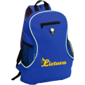 Blue Backpack Lithuania