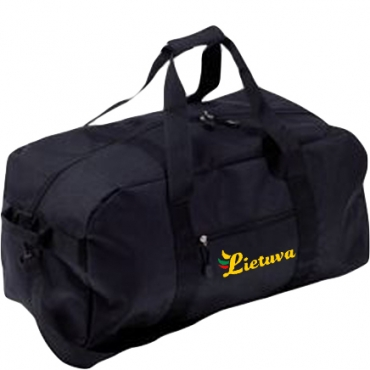 Black Sports Bag Lithuania