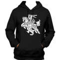 Black Hoody With Vytis